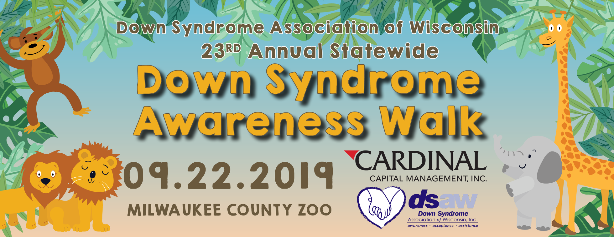 23rd Annual Statewide Down Syndrome Awareness Walk